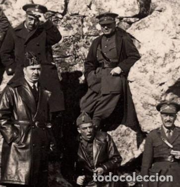 Postales: OFICIALES DISTINTOS CUERPOS. ALFONSO XIII. POSTAL FOTOGRÁFICA. AVIACIÓN. INFANERÍA. - Foto 2 - 197141008