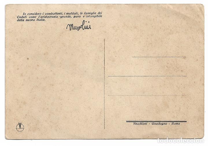 Postales: ITALIA FASCISTA - MUSSOLINI - P30486 - Foto 2 - 198229942