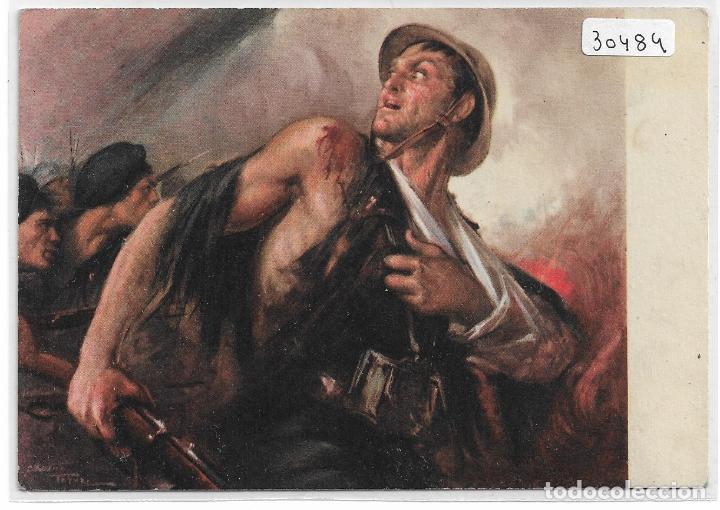 ITALIA FASCISTA - ILUSTRADOR CLEMENTE TAFURI - P30484 (Postales - Postales Temáticas - Militares)