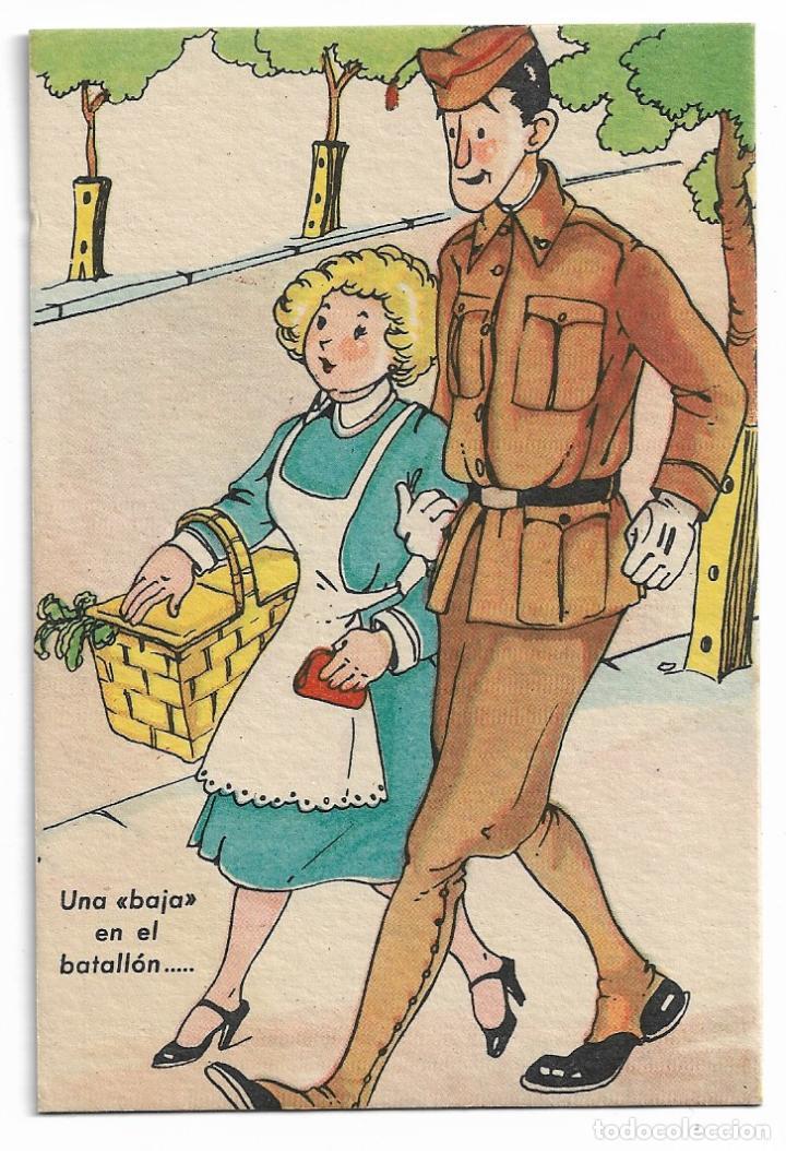 POSTALES DE LA MILI - SERVICIO MILITAR - COLECCIÓN SOLDADOS Nº 8 - P30526 (Postales - Postales Temáticas - Militares)