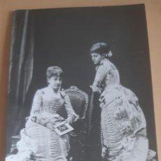 Postales: POSTAL ANTIGUA HIJAS DE ISABEL II LAS INFANTAS PAZ Y EULALIA EDICIONES PALOMEQUE. Lote 198789631