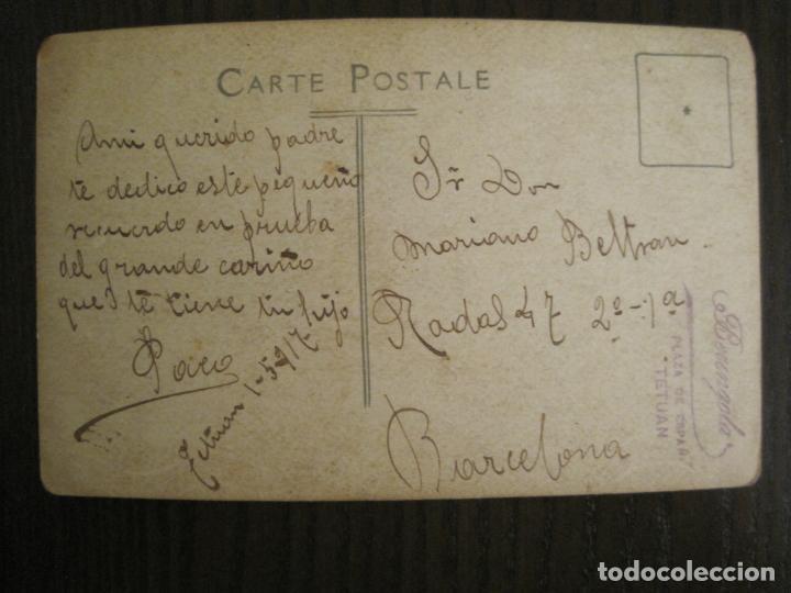 Postales: MILITAR-FOTOGRAFO BERENGOLA, TETUAN-POSTAL FOTOGRAFICA ANTIGUA-VER FOTOS-(69.016) - Foto 3 - 202598306