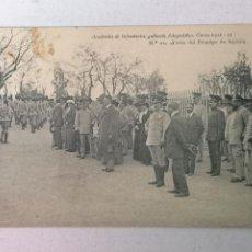 Postales: ACADEMIA DE INFANTERÍA CURSO 1912-1913. Lote 203927293