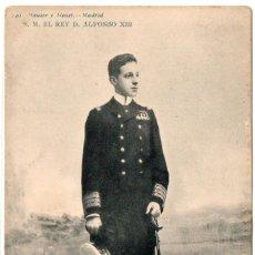 Postales: POSTAL DE ALFONSO XIII SIN CIRCULAR, AÑO SOBRE 1905 EDITOR HAUSER Y MENET. Lote 204596890