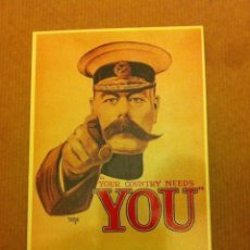 Postales: YOUR COUNTRY NEEDS YOU- MODERNA. Lote 205299740