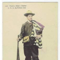 Postales: POSTAL, S.M.D.ALFONSO XIII. HAUSER Y MENET 1020, SIN DIVIDIR, COLOREADA, SIN CIRCULAR. Lote 205404392
