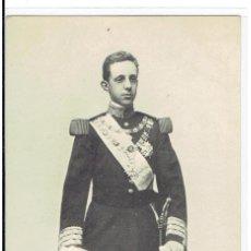 Postales: POSTAL, S.M. DON ALFONSO XIII, REY DE ESPAÑA, HAUSER Y MENET 415, SIN DIVIDIR, SIN CIRCULAR. Lote 205405718