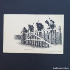 Postales: TARJETA POSTAL MILITAR, TOLEDO. COLECCIÓN G. F. A.I. AÑO 1907.PASO DE OBSTÁCULOS (P243). Lote 209036940