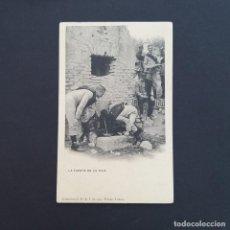 Postales: TARJETA POSTAL MILITAR, TOLEDO. COLECCIÓN G. F. A.I. AÑO 1907. LA FUENTE DE LA TEJA (P241). Lote 209037252