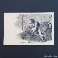 Postales: TARJETA POSTAL MILITAR, TOLEDO. COLECCIÓN G. F. A.I. AÑO 1907. CORTANDO LA ALAMBRADA (P239). Lote 209037460