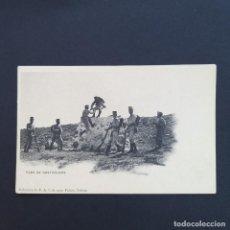 Postales: TARJETA POSTAL MILITAR, TOLEDO. COLECCIÓN G. F. A.I. AÑO 1907. PASO DE OBSTÁCULOS. (P238). Lote 209037550