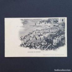 Postales: TARJETA POSTAL MILITAR, TOLEDO. COLECCIÓN G. F. A.I. AÑO 1907. CONCURSO DE ESGRIMA. (P236). Lote 209037741