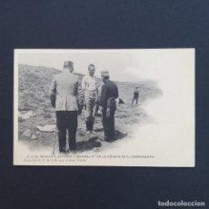 Postales: TARJETA POSTAL MILITAR, TOLEDO. COLECCIÓN G. F. A.I. AÑO 1907. S.A. EL INFANTE ALFONSO Y EL GENERAL. Lote 209039520