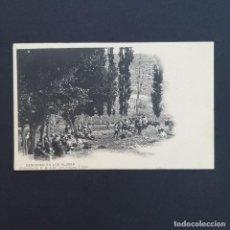 Postales: TARJETA POSTAL MILITAR, TOLEDO. COLECCIÓN G. F. A.I. AÑO 1907. DESCANSO EN LOS ALJIRES (P227). Lote 209039965