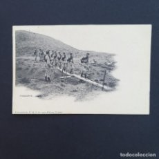 Postales: TARJETA POSTAL MILITAR, TOLEDO. COLECCIÓN G. F. A.I. AÑO 1907. PASADERA (P226). Lote 209040086