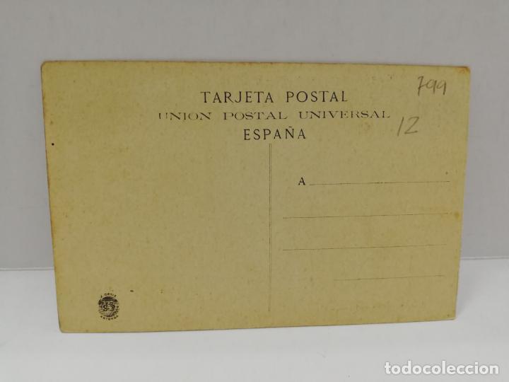 Postales: TARJETA POSTAL. VAPOR CORREO REINA Mª CRISTINA. - Foto 2 - 210822186