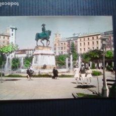 Postales: LOGROÑO-VISTA DEL MONUMENTO AL GENERAL ESPARTERO.. Lote 210933556