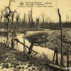 Postais: RUINES DE KEMMEL -RUINES DU CHÂTEAU EERST WERELDOORLOG BELGIË BELGIQUE 191418 WWI WWICOLLECTION. Lote 213611846