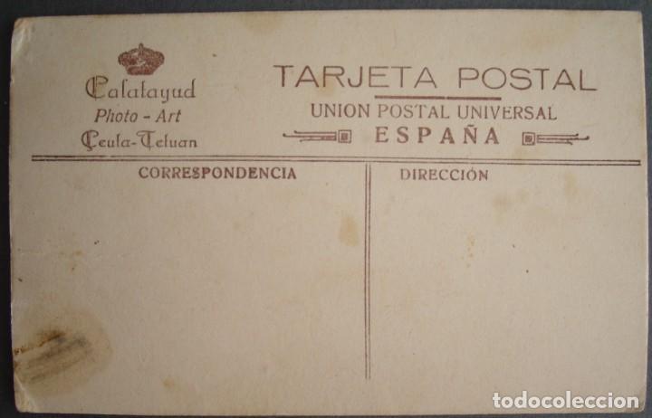 Postales: EJÉRCITO.FOTOGRAFIA DE JOVEN MILITAR, CALATAYUD PHOTO-ART,CEUTA-TETUAN.TARJETA POSTAL. - Foto 2 - 213719166