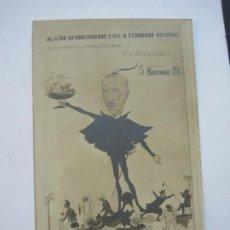 Postales: GOBERNADOR CIVIL FERNANDO REGUERAL-NOVIEMBRE 1914-POSTAL FOTOGRAFICA ANTIGUA-(73.699). Lote 215956666