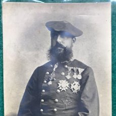 Cartes Postales: TARJETA POSTAL CARLISTA. DON CARLOS VII. CIRCULADA EN 1904. Lote 216804911