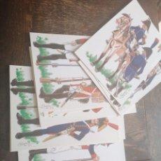 Postales: 12 POSTALES BATALLA DE BAILEN. Lote 216901096