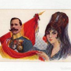 Cartoline: D. MANUEL FERNÁNDEZ SILVESTRE - GENERAL DE DIVISIÓN, ARMA DE CABALLERÍA.. Lote 217367092