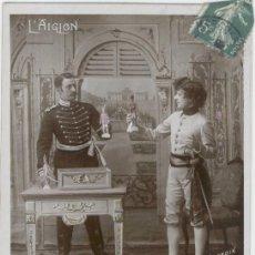 Postales: ANTON PROKESCH (MILITAR Y DIPLOMÁTICO AUSTRÍACO) Y EL DUQUE DE REICHSTADT (HIJO DE NAPOLEON I). 1930. Lote 218961573