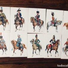 Postales: 24 SOLDADOS DE CABALLERIA. ORIG. W. TRITT. EDICIÓN KORSCH. MUNICH. ALEMANIA.. Lote 262838785