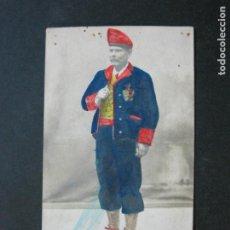 Postales: CATALUNYA-JOAQUIN BELTRI-VOLUNTARIO CATALAN-SUPERVIVIENTE GUERRA AFRICA-POSTAL FOTOGRAFICA-(74.680). Lote 220893875