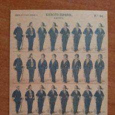 Postales: POSTAL MILITAR EJERCITO ESPAÑOL : MARINERÍA. Lote 222236113