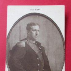 Postales: HERMAN RICHIR. RETRATO DE S.M. EL REY ALBERTO DE BÉLGICA.. Lote 222449875