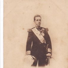 Postales: MONARQUIA S. M. ALFONSO XIII. ED. HAUSER Y MENET Nº 415. REVERSO SIN DIVIDIDIR. CIRCULADA EN 1904. Lote 222594407