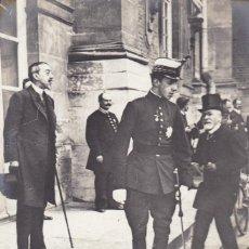 Postales: MONARQUIA S. M. ALFONSO XIII A VERSAILLES EN 1905. ED. ND FOTO Nº 3. POSTAL FRANCESA SIN CIRCULAR. Lote 222596307