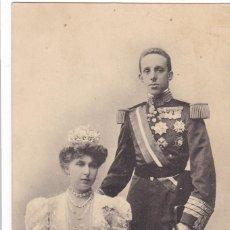 Postales: MONARQUIA ALFONSO XIII Y VICTORIA EUGENIA. ED. G. GALARZA SAN SEBASTIAN FOTO FRANZEN. CIRCULADA. Lote 222598626