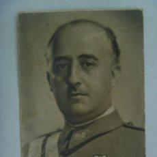 Postales: POSTAL DEL CAUDILLO FRANCO CON MEDALLA MILITAR INDIVIDUAL, 1944. PAPELERIA ROBERTO ELIAS, VALENCIA. Lote 224688825