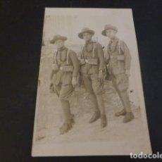 Postales: SOLDADOS SANIDAD MILITAR EN UNIFORME POSTAL FOTOGRAFICA AÑOS 20. Lote 226138922