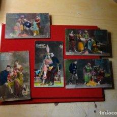 Postales: LOTE 10 POSTALES MILITAR COLOREADAS AÑOS 1910-20.. Lote 228423485