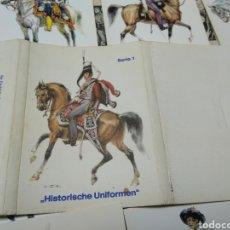 Postales: HISTORISCHE UNIFORMEN. SERIE 1. POSTALES UNIFORMES.. Lote 228476385