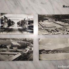 Postales: 4 ANTIGUAS POSTALES - FOTOS ESCUELA MILITAR DE MONTAÑA DE JACA (HUESCA - ARAGÓN). Lote 232594540