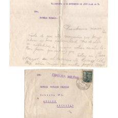 Postales: VILLANUEVA DE GÁLLEGO.(ZARAGOZA).- EUROINGLES/REG. DE CARROS DE COMBATE Nº2. PLANA MAYOR 4º BATALLÓN. Lote 235807900