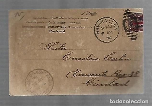 Postales: POSTAL CUBA. FIRMA DE RAFAEL MONTORO. ABOGADO HISTORIADOR - Foto 2 - 241873290