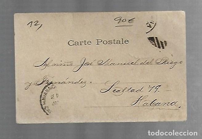 Postales: POSTAL CUBA. FIRMA DEL MAYOR GENERAL JOSÉ LACRET MORLOT. - Foto 2 - 241873790