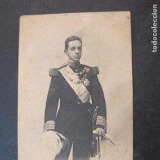 Postales: S.M. D. ALFONSO XIII-REY DE ESPAÑA-HAUSER Y MENET-415-REVERSO SIN DIVIDIR-POSTAL ANTIGUA-(77.695). Lote 243663130