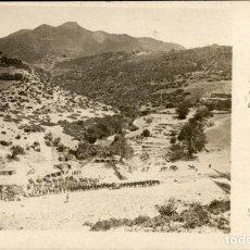 Postales: ORIGINAL - CAMPAÑA DE MELILLA - VISTA GENERAL DEL CAMPAMENTO DEL LOCO EL-JEMIS - J.C. MADRID. Lote 243989475