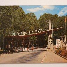 Postales: LEÓN - CAMPAMENTO DEL FERRAL DE BERNESGA - C.I.R. Nº 12 - PUERTA PRINCIPAL - P47081. Lote 244952525
