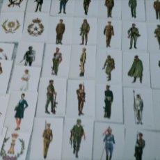 Postales: 36 LOTE POSTALES MILITARES ILUSTRADOR DELFIN SALAS. Lote 248722750