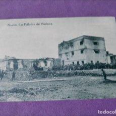 Postales: NADOR LA FABRICA DE HARINAS EDITOR M ARIBAS CLICHE ARRIBAS. Lote 248725510