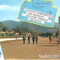 Postales: POSTAL A COLOR 12 CAMPAMENTO GARCIA GARRABELLA. Lote 255377290