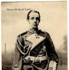 Postales: ALFONSO XIII REY DE ESPAÑA - CLICHÉ FRANZEN - ED. TC MADRID - 141X90MM.. Lote 261156075